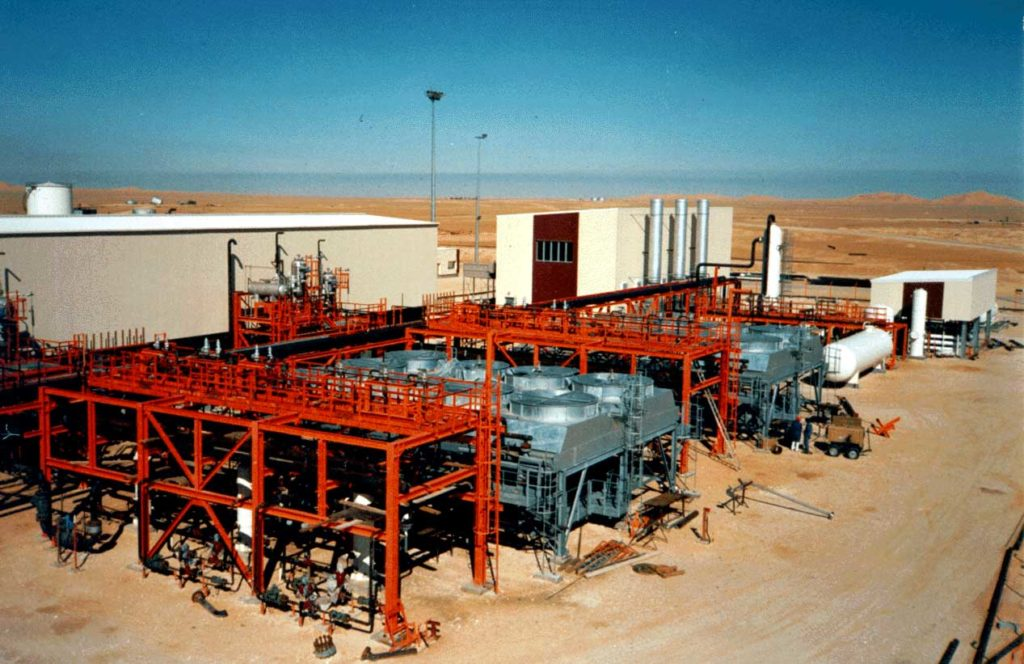 Mesdar Gas Reinjection Station