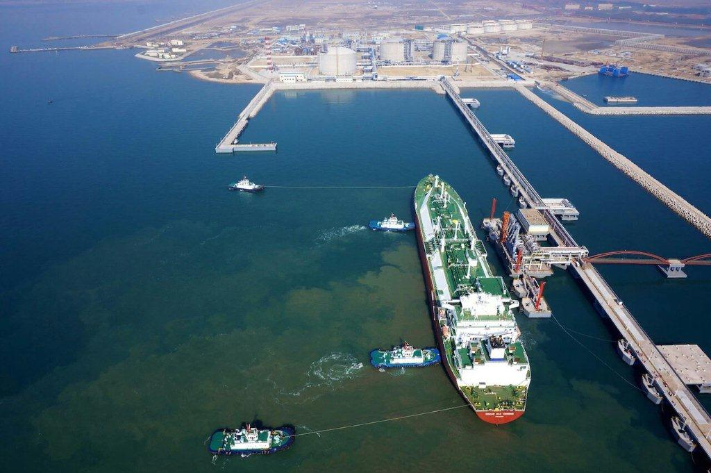 Shangdong 1st LNG ship for commissioning