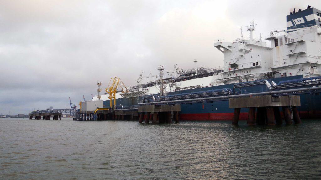 Reloading station for Klaipedos NAFTA