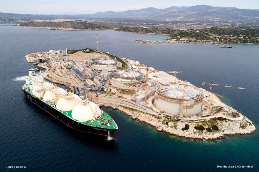 REVITHOUSSA Small Scale LNG - Bunkering